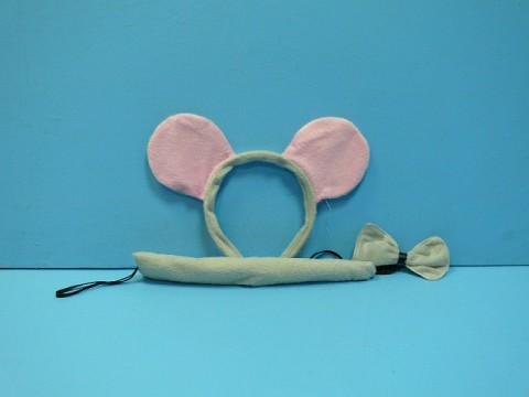 """ТК """"Стадион игрушек"""" - - Фото товара: Карнавальный набор """"Мышка"""" бант,хвост,ободок-ушки в пакете 8848и. Игрушки, сувениры, велос"""